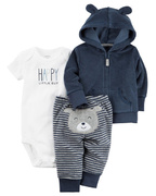 Conjunto 3 Pcs Carter's Happy Bear