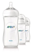 Kit 3 Mamadeiras Avent Natural  330ml
