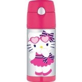 Garrafa Thermo Foogo Funtainer - Hello Kitty
