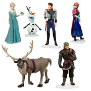 Frozen - Miniatura dos Personagens do Filme