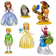 Miniaturas do filme Princesa Sofia - Disney