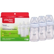 Kit 3 Mamadeiras de Playtex Standard Premiun  - 180 ml
