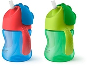 2 Copos Avent  My Bendy Straw Cup-  2 Cores Disponiveis