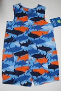 "Body Shorts "" Shark""  -  6 meses"