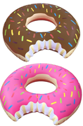 2 Boias Inflaveis Donuts