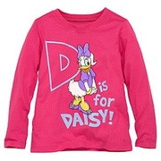 "Blusa "" D is for Daisy"" 3 anos"