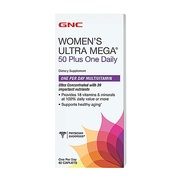 GNC Womens Ultra Mega 50 Plus  - 60 Capsulas